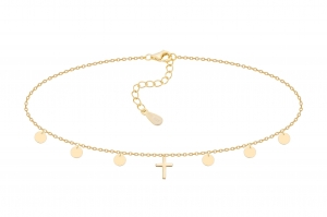 Choker One Cross&Circles Gold