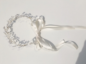 Baby's breath headpiece