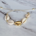 Bransoletka Cowrie Shells Gold