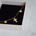 Choker One Cross&Circles