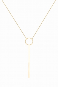 Lariat Simple Gold