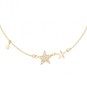 Gold Galaxy Necklace