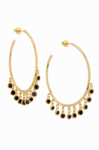 Gypsy Hoops Gold Earrings