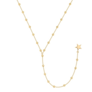 Lariat Star Balls Gold