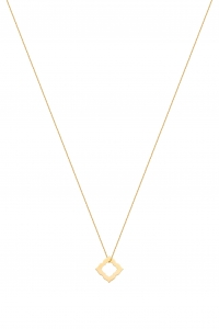 Rosette Gold Necklace