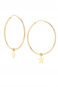 Stars Love Loops Earrings