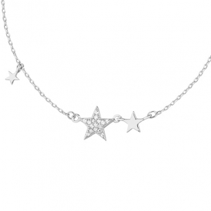 Silver Galaxy Necklace