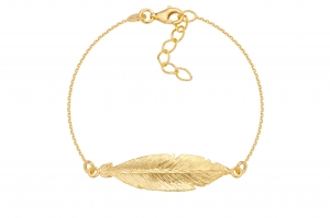 Bransoletka Feather Gold
