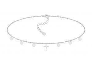 Choker One Cross Silver