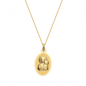 Saint Mary Mat Necklace