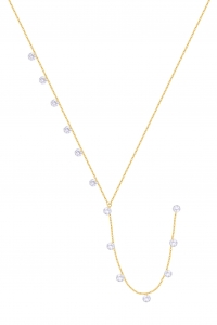 Lariat Crystals Gold