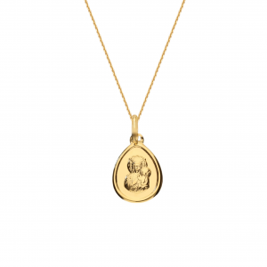 Saint Mary Pear Necklace
