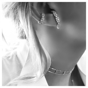 Flawless Silver Earrings