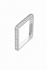 Pierścionek Crush Square Silver