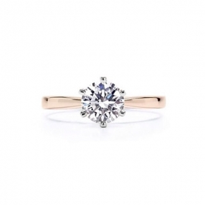 Love Crown Gold Ring