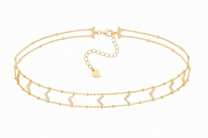 Choker Molly Gold