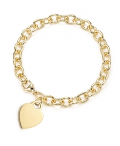 Bransoletka Love Heart Gold