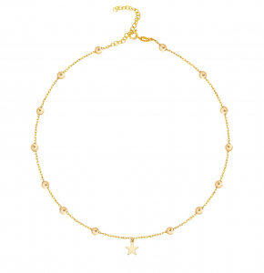 Choker Balls with Star Gold