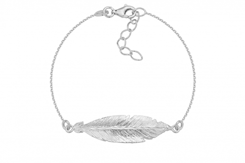 Bransoletka Feather Silver