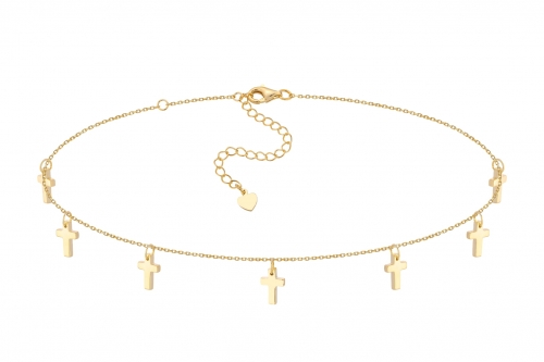 Choker Seven Prayers Gold