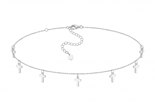 Choker Seven Prayers Silver